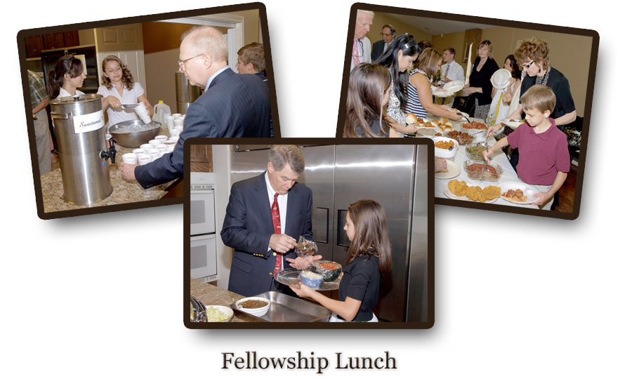 Chalcedon Presbyterian Church Fellowship Lunch